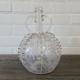 18e eeuws geetst bruidskaraf met 2 oren. Hoogte 23 cm