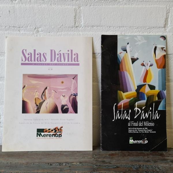 DOEK, 48 X 38, METAFYSISCHE SURREALISME, GESIGNEERD SALAS DAVILA (1990)